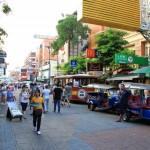 In Bangkok – Khao San Road