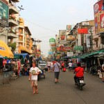 In Bangkok – Khao San Road
