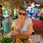 In Bangkok – Taling chan floating market