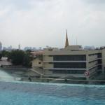 Bangkok - Vom Dach unseres Hotels