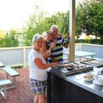 Perth – Grillen auf dem Campingplatz