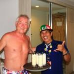 Bali - Geburtstagskind Hansi