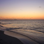 Sonnenuntergang in Lancelin